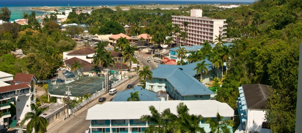 The Gloucestershire Hotel located on the Hip Strip in Montego Bay.