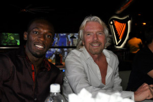 bolt and branson in tracks